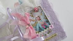Marie Antoinette Shabby Wedding Book Lace by underthenightmoon