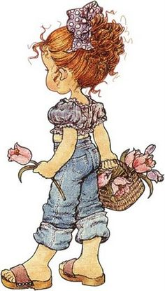 Best Flowers Vintage Art Sarah Kay Ideas The Effective Pictures We Offer You About Decoupage tray A quality picture can tell you many things. You can find the most beautiful pictures that can be p Sarah Key, Holly Hobbie, Sara Key Imagenes, Digi Stamps, Cute Illustration, Vintage Pictures, Vintage Flowers, Cute Drawings, Cute Art