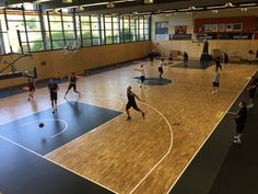 Another beautiful image of the new #basketball #court of Brose Bamberg, club participating to the #Euroleague 2016/2017
