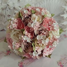 Hey, I found this really awesome Etsy listing at https://www.etsy.com/uk/listing/463137245/paper-flower-bouquet-pastel-baby-blush