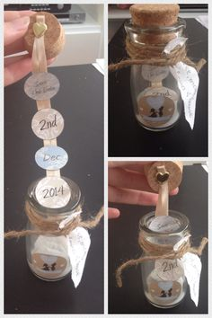 Message in a bottle wedding Save The Dates