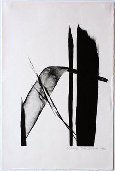 Japanese Ltd. Edition Lithograph Toko Shinoda Journey