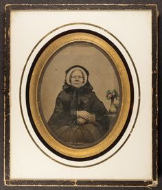 All sizes | Amdrotype of an older lady in a continental frame | Flickr - Photo Sharing!