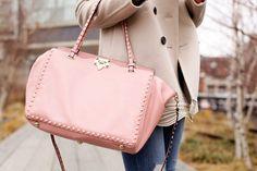 42a2f586b5 pink handbag Valentino Rockstud Bag