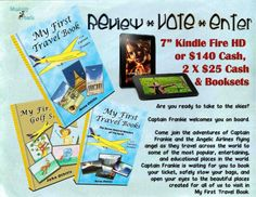 "#Kindle Fire 7"" or Cash & $50 plus books for MY TRAVEL FIRST TRAVEL BOOK #giveaway via fabreads"