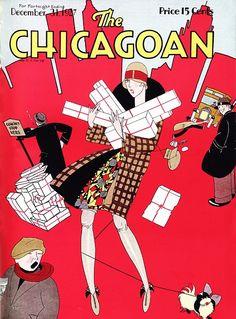 The Chicagoan, December 31, 1927, Art Deco  repinned by www.lecastingparisien.com
