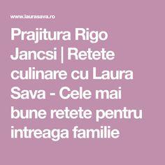 Prajitura Rigo Jancsi | Retete culinare cu Laura Sava - Cele mai bune retete pentru intreaga familie Mai