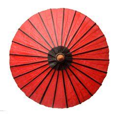 Oiled Paper Umbrella, two-tone