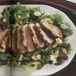 Seared Maple Leaf Duck Breast and Shallot Balsamic Vinaigrette