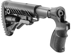 FAB Defense M4-Style Collapsible Buttstock Mossberg 500, 590 Synthetic Black