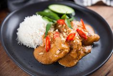 Chicken & Peanut Butter Red Curry Chinese Recipes, Thai Recipes, Asian Recipes, Yummy Recipes, Recipies, Dinner Recipes, Cooking Recipes, Healthy Recipes, Gourmet Chicken