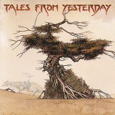 VV.AA. - Tales From Yesterday, Yes Tribute (1995). Cover Art by Roger Dean.