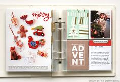 Ali Edwards | Blog: December Daily® 2015 | Day Twelve - love this fav ornaments page