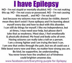Epilepsy Tattoo, Epilepsy Quotes, Epilepsy Facts, Epilepsy Awareness Month, Temporal Lobe Epilepsy, Epilepsy Seizure, Seizure Disorder, Frases, Health
