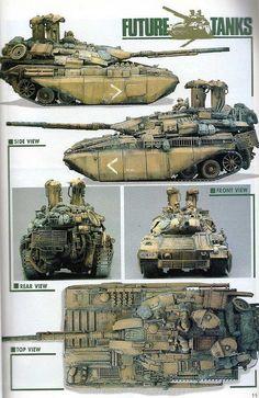 Kobayashi Future Tanks...nice directional profile mass in this design.