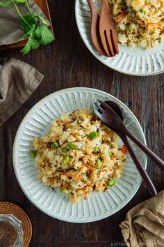 Trader Joe's copycat recipe - Japanese Fried Rice with Edamame, Tofu and Hijiki Seaweed Easy Japanese Recipes, Asian Recipes, Ethnic Recipes, Entree Recipes, Japanese Fried Rice, Japanese Food, Vegetarian Recipes, Cooking Recipes, Vegetarian Kids