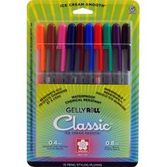 Sakura Gelly Roll Pens