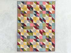 Charm Star Tailor's Tack Quilt Kit by Kate Colleran featuring Boundless Fabrics | Craftsy