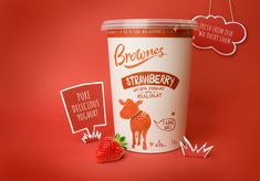 Looking to redesign existing recipes as well as make way for new flavors, Brownes Natural Yoghurt turned to Boxer & Co. for a redesign. Handling the 33 SKUs in the range, Brownes needed to emit quality and realness without coming off as too premium or expensive. Their product is an everyday essential for the modern Australian family, so the goal was to create something accessible and honest.