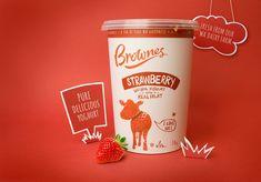 Brownes Natural Yoghurt — The Dieline - Branding & Packaging