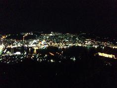 Night view from Inasayama