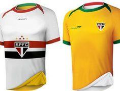 """Penalty, patrocinadora do São Paulo lança camisa especial para a Copa: """"Paixão por dentro e por fora"""" (Foto: Divulgação - Source: GE) - Ótima ideia!"""