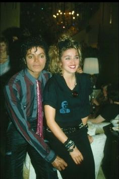 MJ and Madonna