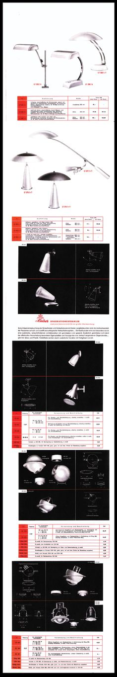 Molecula sources and sells items from mainly, but not exclusively, the Twentieth Century. Bauhaus, Work Lamp, Retro Furniture, Modern Retro, Vintage Lamps, Modernism, Lamp Design, Catalog, Light Bulb Drawing