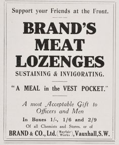 Meat Lozenges - Google Search History Of Psychology, Chemist, Good Ol, Of Brand, Meat, Nutrition, Google Search, Classic, Vintage