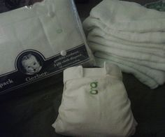 Make G-Diaper inserts out of cloth diapers.