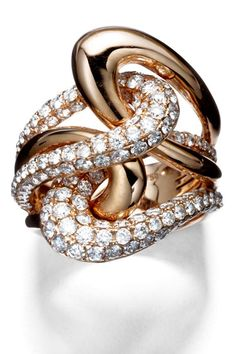 Le Vian Ring - Gold Jewelry and Accessories for August 2012 - Harper's BAZAAR.  <3