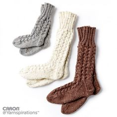 Free Intermediate Knit Socks Pattern