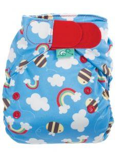 Frugi Easyfit V3 Cloth Nappy/Diaper at Organic Baby Wearhouse $29.95 www.organicbabywearhouse.com