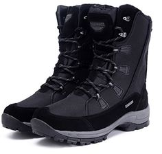 Roadmark Women Waterproof Snow Boots Warm Boot Winter Outdoor Shoes Mid Calf US10 Black -- Read more reviews of the product by visiting the link on the image. (This is an affiliate link)