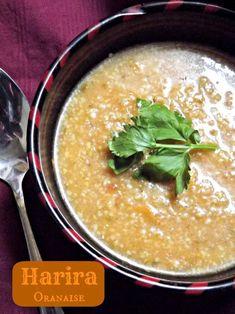 Algerian soup from region of Oran, eaten during ramadan. Omit the lamb, still sounds fantastic! Read More by coyolxauqui Halal Recipes, Lebanese Recipes, Real Food Recipes, Soup Recipes, Cooking Recipes, Oat Soup Recipe, Algerian Recipes, Algerian Food, Shorba Recipe