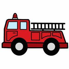 fire engine clipart image cartoon firetruck creating printables rh pinterest com fire truck cartoons fire truck cartoons for kids