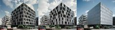 Movable facade shading system
