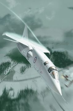 British Aircraft Corporation TSR.2 Military Jets, Military Weapons, Military Aircraft, V Force, Bomber Plane, Experimental Aircraft, Aircraft Pictures, Royal Air Force, Aviation Art