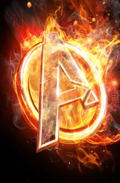 AVENGERS ARENA Logo on fire! Here's a cover I created at Marvel Comics. I purposely wanted the heroes' team logo to mirror the flaming logo from The Hunger Games