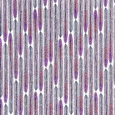 Plumes Lavender from the Biology line by Sarah by DabbleAndStitch