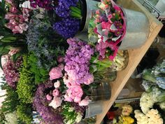 Flowers from Dean & Deluca NYC