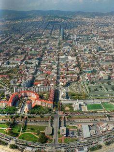 Barcelona unusual view