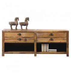 1000 ideas about meuble tv bois massif on pinterest - Meuble tv tendance ...