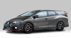 This rendering of a Honda Civic Tourer Type R blends cargo volume with crazy