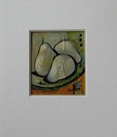 Nancy Bossert Artworks, Ready to Eat, oil on Paper