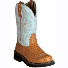 "Ariat Women's ProBaby 10"" Western Boots-Only driftwood color"