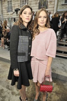 Front Row at Chanel Spring 2015 - Slideshow Coco would be happy.