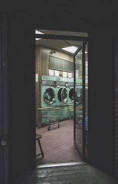 Brielle's at the laundromat with her three youngest kids. One is clinging to her leg, one is running around, and one is lying on the floor. She looks stressed but hums softly anyways. Does your character get angry that her kids are running around? Do they start a conversation? Or are they someone who needs help and recognizes a friendly face?