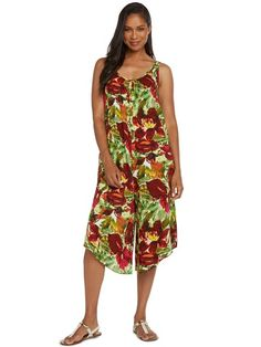 989406ece95a [Spring 2018] Jams World Anthurium The Jumper | AlohaOutlet Hawaiian Dresses,  Resort Wear
