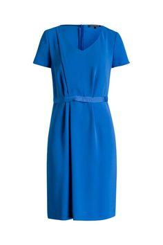 Als Hochzeitsgast oder für das Sommerfest, dieses fließende Kleid in atemberaubendem Azur kleidet Sie jederzeit elegant und modebewusst. - {PRODUCTNAME} von LUISA CERANO bei OUTLETCITY.COM bestellen.